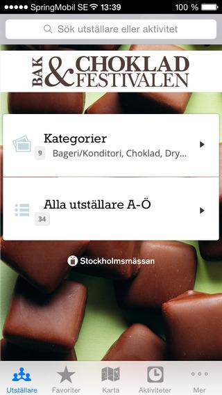 Bak Chokladfestivalen