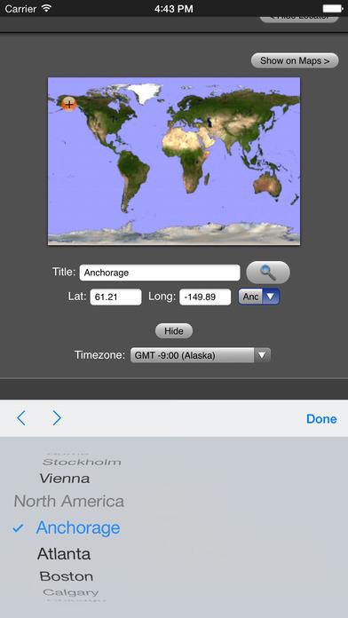 Sunset iPhone Screenshot 3