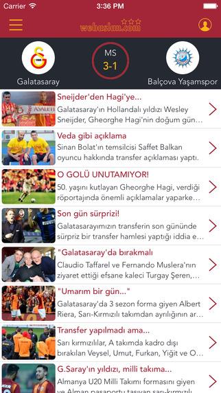 Webaslan - Galatasaray hakkında her şey