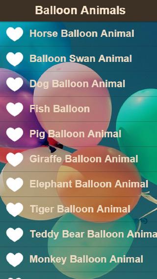Balloon Animal Instructions – Learn How to Make Balloon Animals