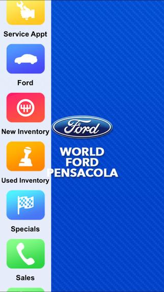 World Ford Pensacola Dealer App