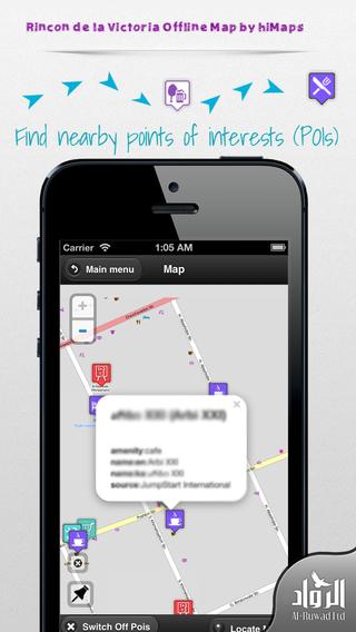 Rincon de la Victoria Offline Map by hiMaps
