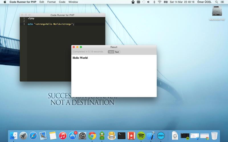 Code Runner for PHP for Mac