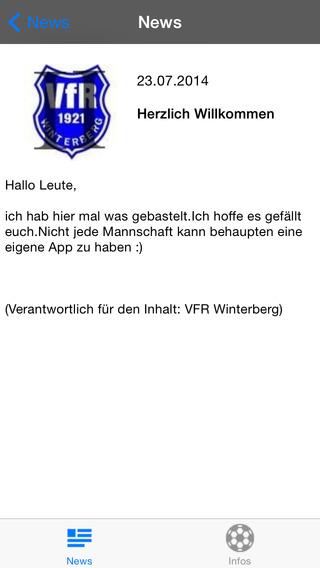 VFR Winterberg