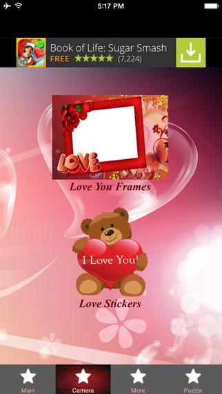 Love You Photo Frames
