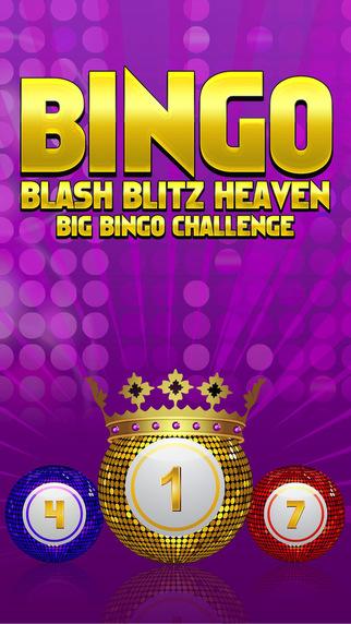 Bingo Blash Blitz Heaven - Big Bingo Challenge