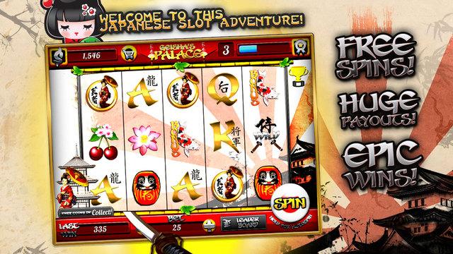 Gueixas Palace - Free Casino Slots Game