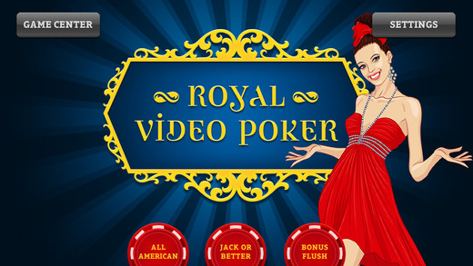 Royal Video Poker - All American Jacks or Better Bonus Flush
