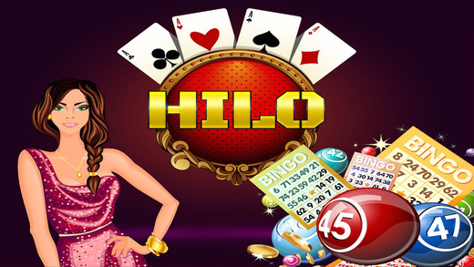 A HI-LO Casino Vegas Cards