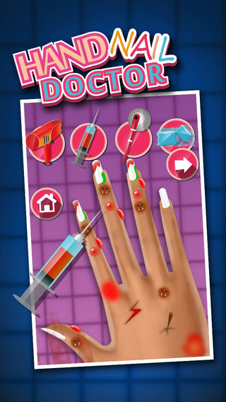 Hand Nail Doctor - Cure Surgery Treatment at Doctor Clinic