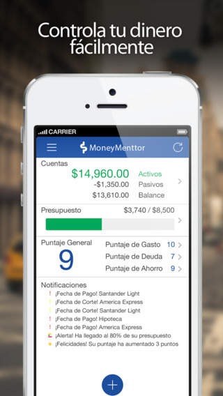MoneyMenttor Finanzas Personales