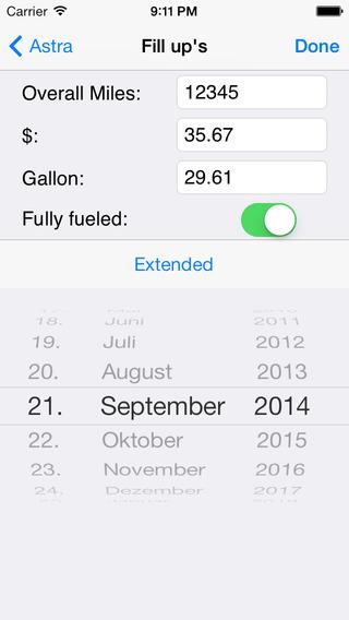 Refuel Memo iPhone Screenshot 4