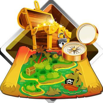 Finding Treasure Map LOGO-APP點子