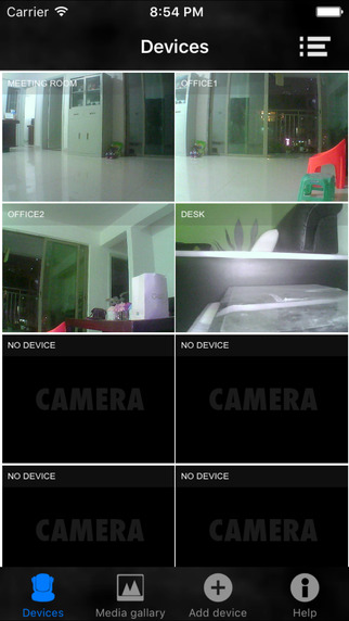 IPCamera Pro: Multi IPCamera Video Recording & Export Screenshots