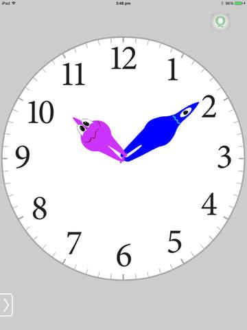 Speaking Clock Telling Time