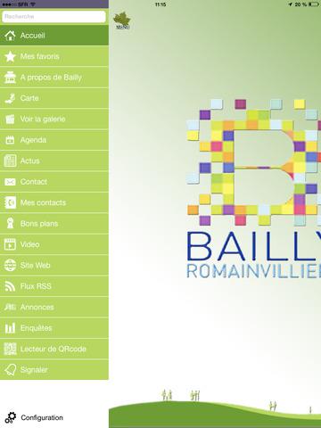 Ville de bailly romainvilliers app app - Piscine de bailly romainvilliers ...