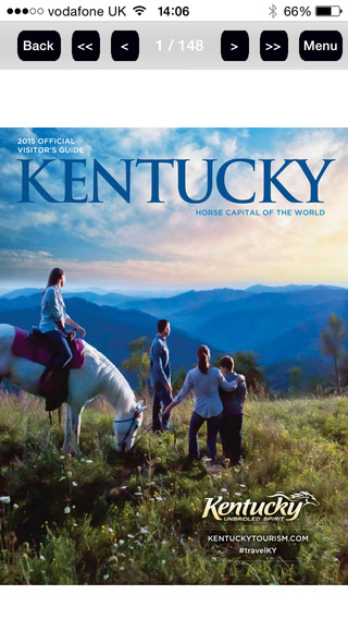 Official Visitor's Guide to Kentucky