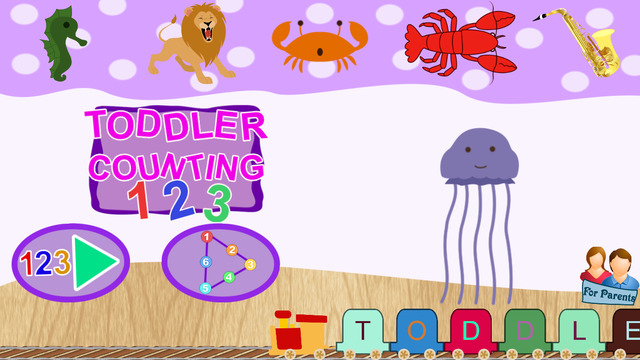Toddler Counting - Connect the Dots