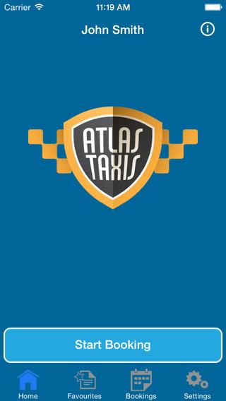 Atlas Taxi Booker In Lowestoft
