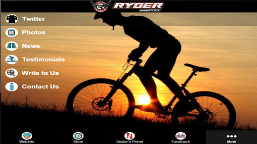 Ryder Bicycles