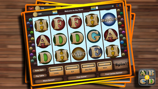 ABCD Slot: Alphabet Word Casino Game of Fortune - Big Social Slots Machine