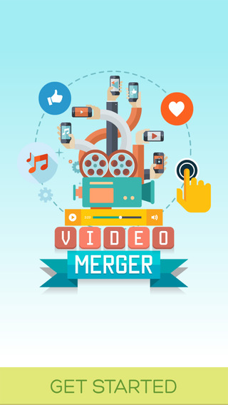 Video Merger Add Music to Video for Instagram Youtube and Friends.
