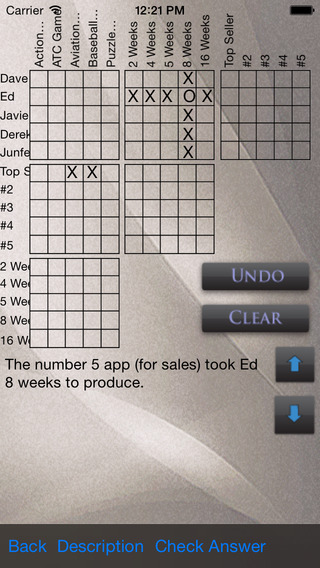 Logic Puzzles Volume 2 iPhone Screenshot 5
