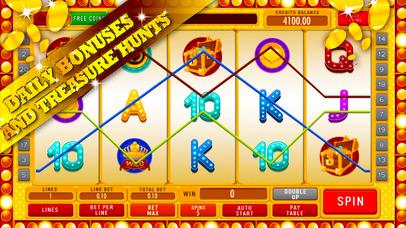 Screenshot 3 новые игровые автоматы золотой шахтер: удвоить золотые монеты, выиграв бонусную игру