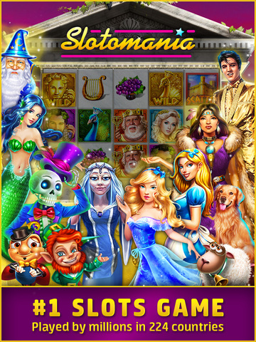 Slotomania HD – Free casino slot machines