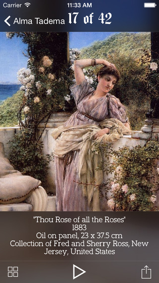 Alma Tadema lifework
