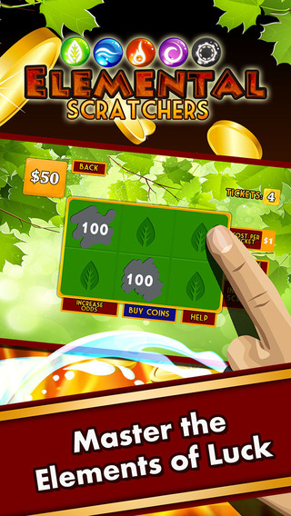 Elemental Scratchers – The Ultimate Lotto Scratch Off Ticket Experience