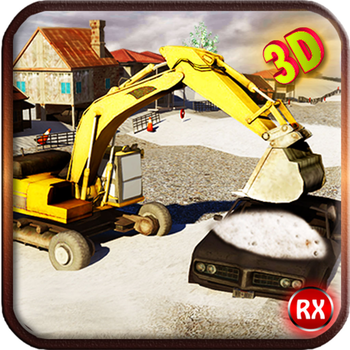 Snow Plowing Simulator - Heavy Excavator Machine 3D 遊戲 App LOGO-硬是要APP