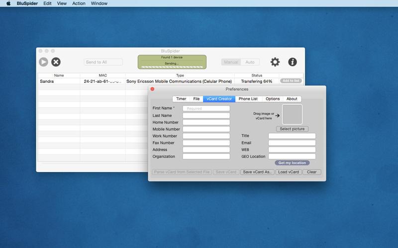 BluSpider Screenshot - 4