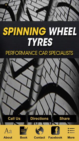 Spinning Wheel Tyres