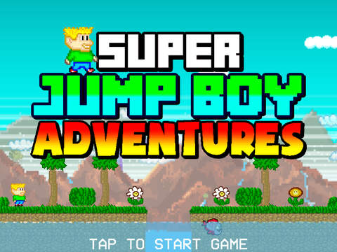 Super Jump Boy Adventures Screenshot