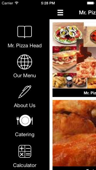 Mr. Pizza Head