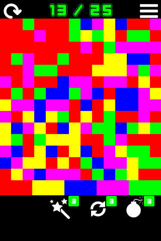 Color Flood Mania! screenshot 1