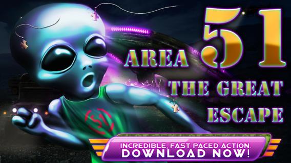 Area 51 Defense - Crazy Mars Alien Invasion Rescue Run from the Men in Black