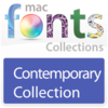 11 款现代型字体 MacFonts-ContemporaryFonts for Mac
