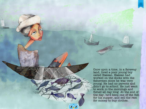 The Fisherman's Boy and the Princess - Another Great Children's Story Book by Pickatale HD