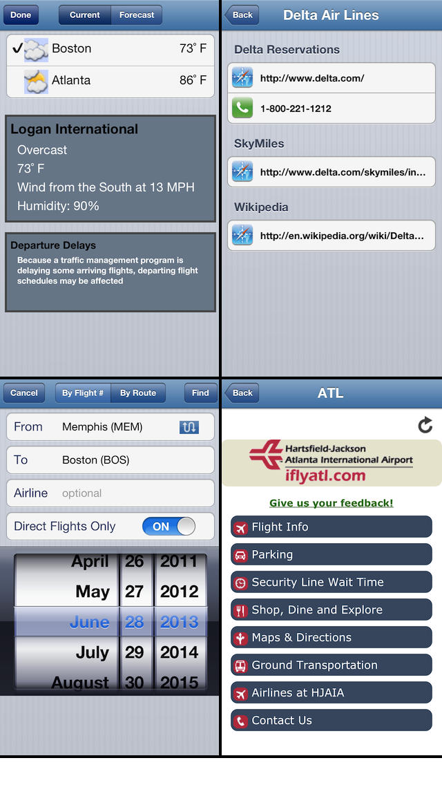 Flight Update Pro - Live Flight Status, Alerts + Trip Sync Screenshot 4