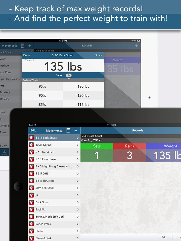 myWOD — All-in-One WOD Log for XF Workouts (NOT AFFILIATED WITH CrossFit Inc) - iPhone Mobile Analytics and App Store Data