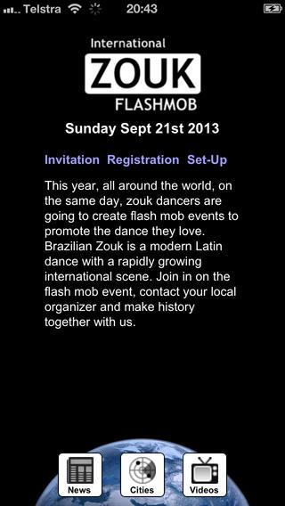 Zouk Flash Mob