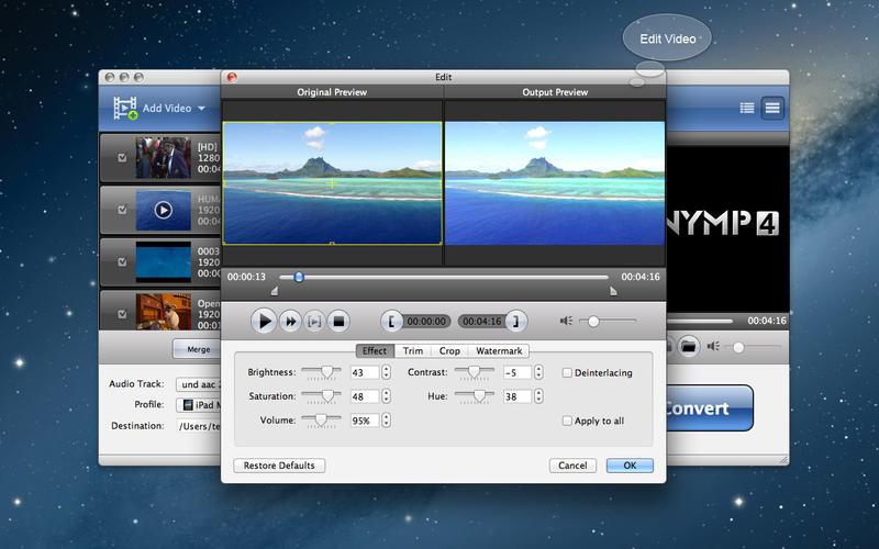 AnyMP4 MTS Converter Screenshot - 3