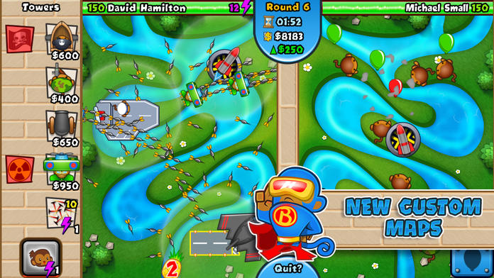 Bloons TD Battles - iPhone Mobile Analytics and App Store Data