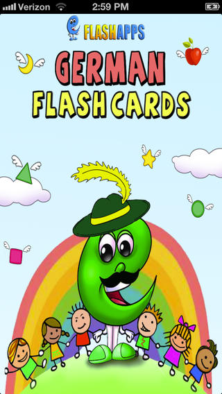 Learn German - Baby Flash Cards