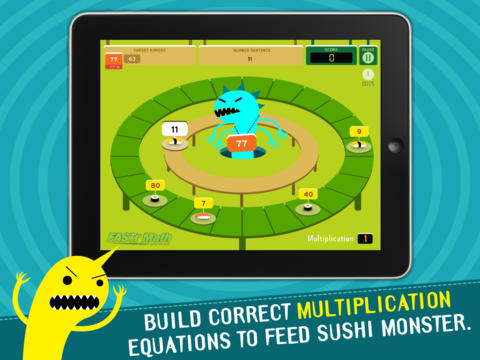 Sushi Monster Screenshot