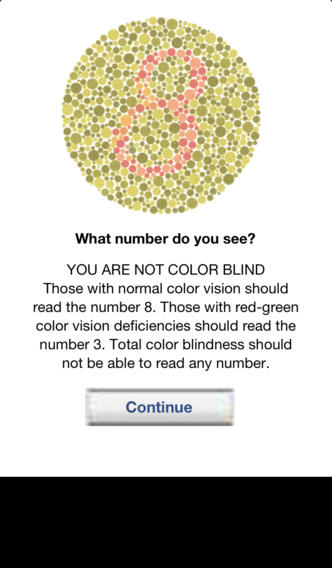 Are You Color Blind? iPhone Screenshot 2