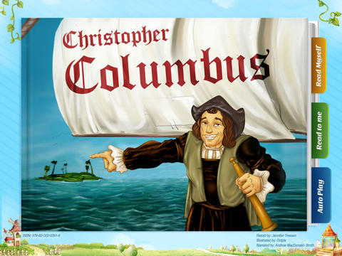 Christopher Colombus - Another Great Children's Story Book by Pickatale HD