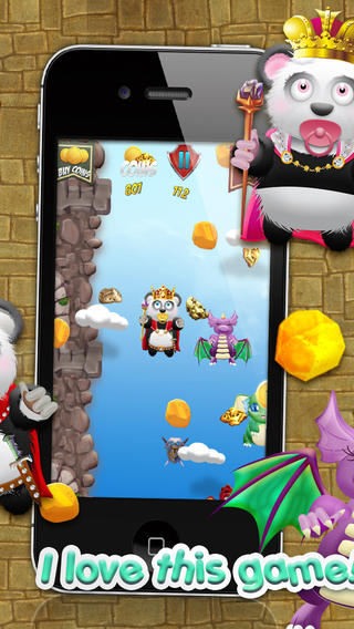 熊猫宝宝熊淘金王国战役 - 超级跳跃类游戏免费版! Baby Panda Bears Battle of The Gold Rush Kingdom - A Super Jumping Game FR